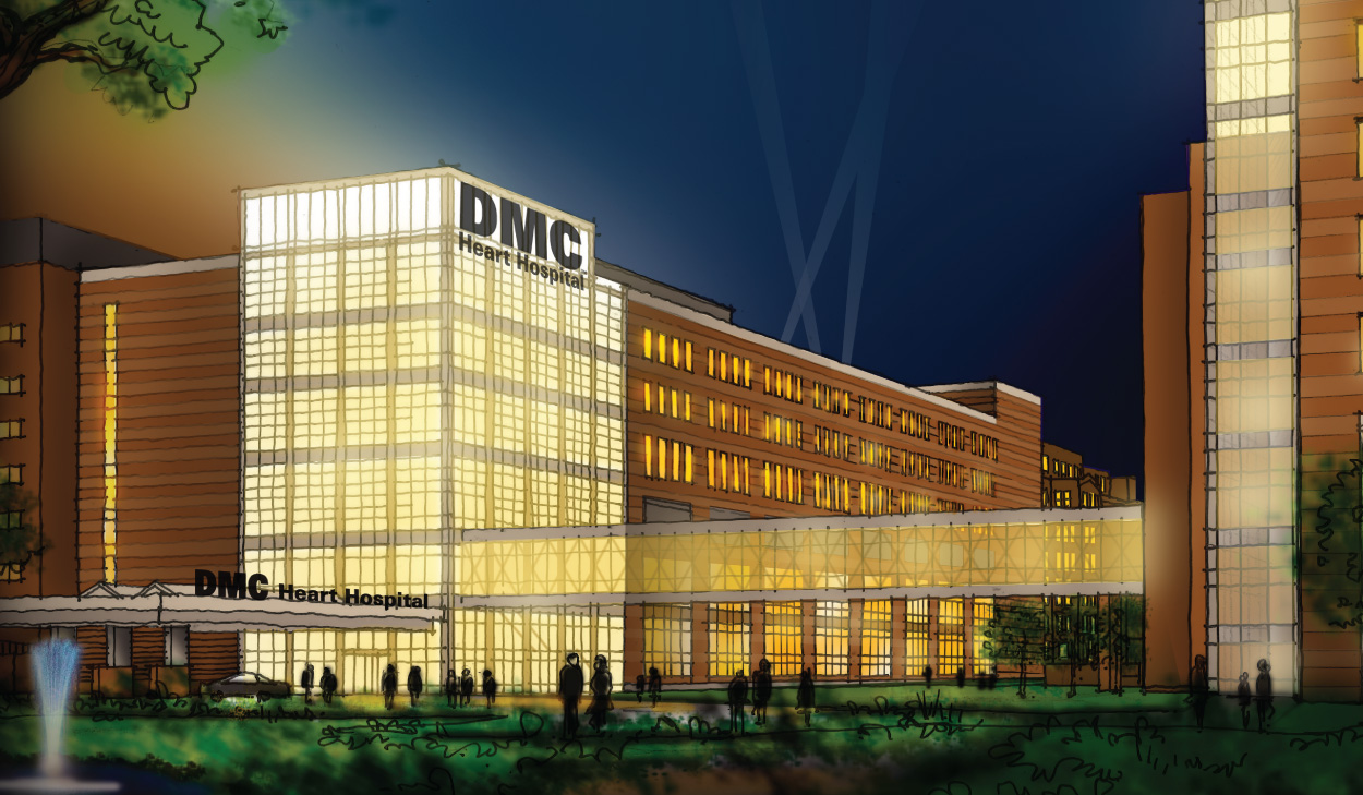 Detroit Medical Center Opening DMC Heart Hospital – TechCentury