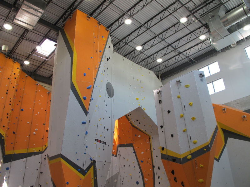 Chicago Climbing Gym Scales New Heights With LEDs Made In Michigan ...