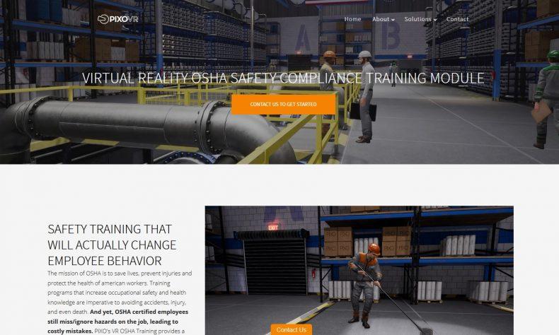 Pixo VR releases new virtual reality OSHA training module