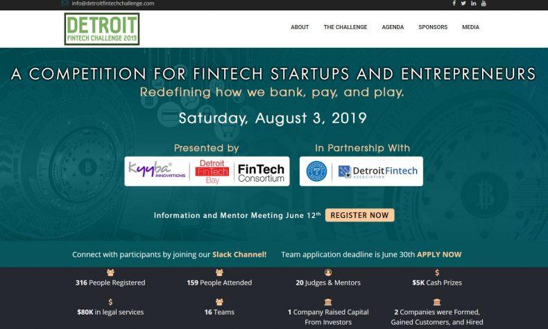 Detroit Fintech Challenge returns for a second year